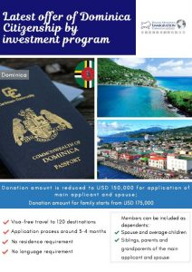 Latest Offer of Dominica Citizenship by investment program