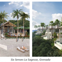 The commencement of initial work on the construction site of Six Senses La Sagesse, Grenada